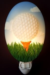Ibis and Orchid Golf Ball Night Light #Gifts #Golf
