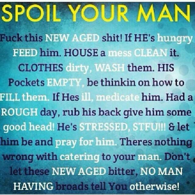 how to make him spoil you