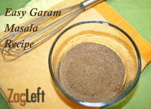 recipe easy garam masala