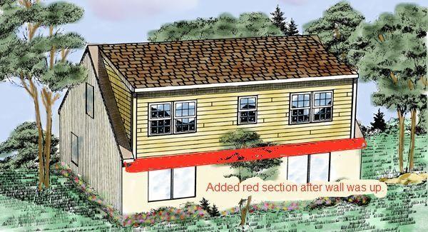 Shed dormer cape houses pinterest Shed addition