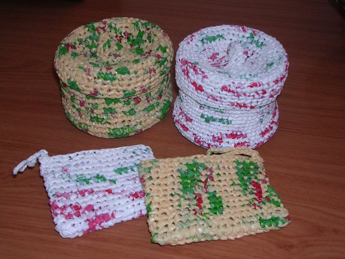 Grocery Bag Crochet : Crochet with plastic grocery bags stuff to do Pinterest