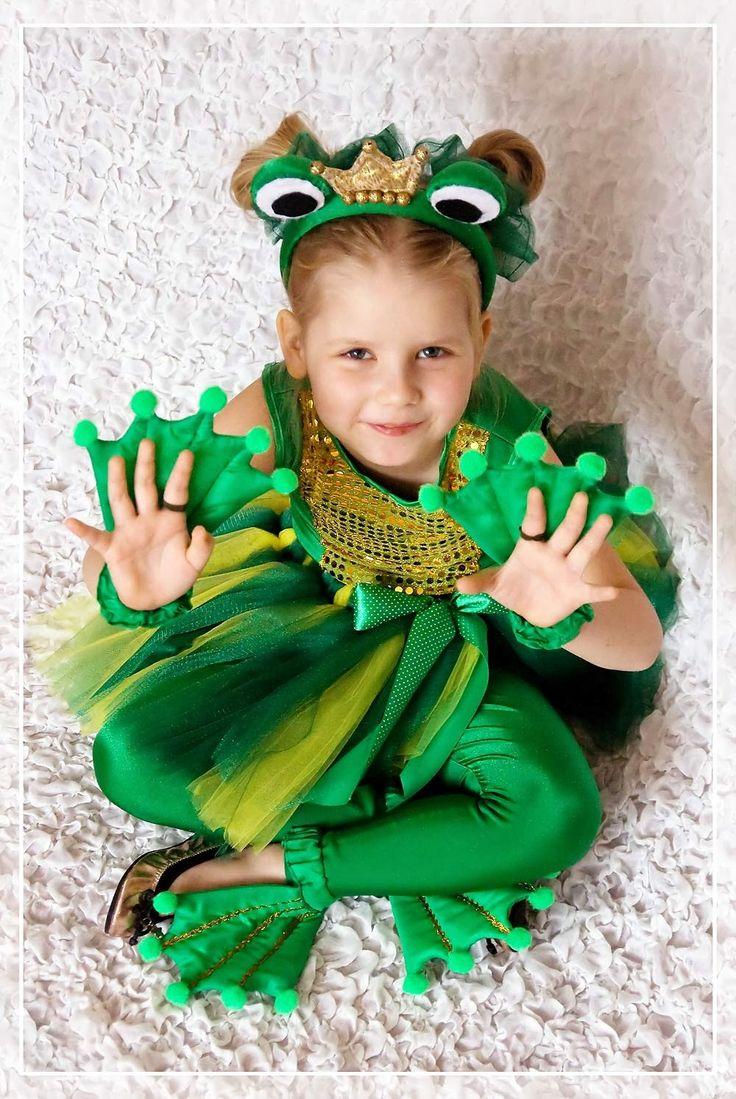 Костюм лягушки царевны своими руками