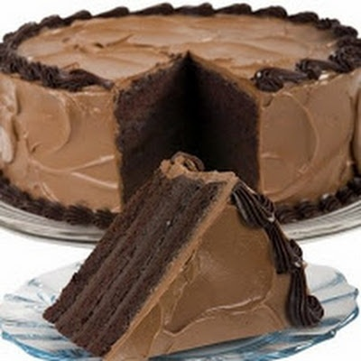 Mile-High Chocolate Layer Cake | Cake....Let me eat cake! | Pinterest