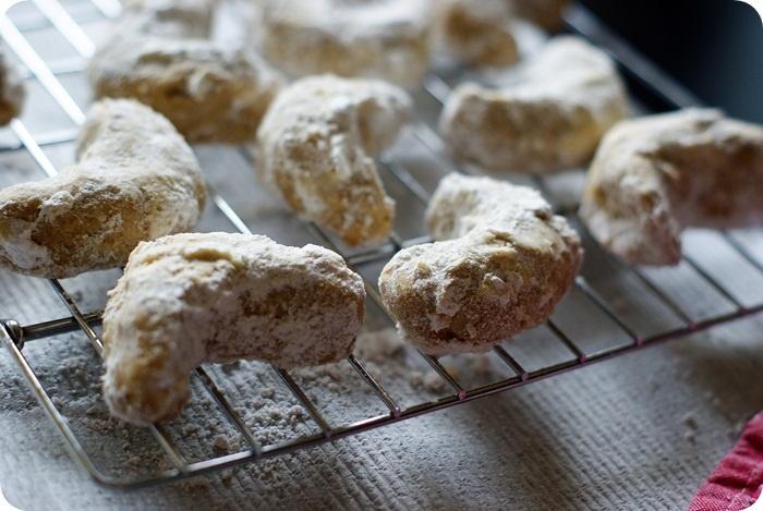 Pecan Cardamom Crescents | Yummy! | Pinterest