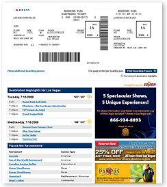 Boarding Pass Template For KidsDelta Boarding Pass Template
