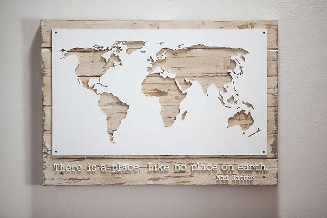Map Wall Decor Ideas : Littlehoneypo travel maps map world