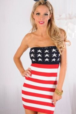 american flag dress suit