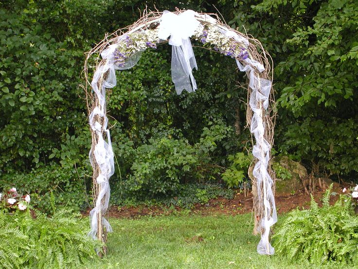 Heja get arbor decorating ideas for Arbor decoration ideas