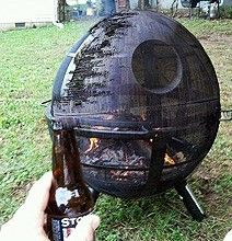 Death Star Grill Turns Your Barbecue Into A Star Wars Adventure - My thoughts are never too far from a good barbecue with friends and family. Sure, it's not the most common of events since work has to come first, but when the summer is looming, I can't wait to relax for a few hours and just enjoy the company.