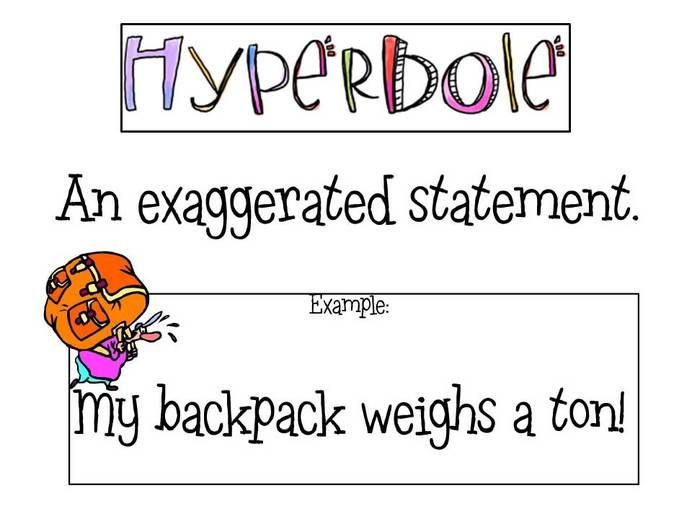 how to remember the definition of hyperbole