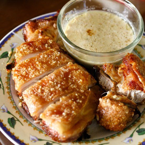 Roast Pork in Milk with Crackling (via http://rss-submit.com)