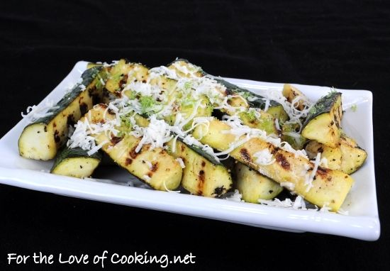 zucchini with lime and cotija cheese | Vegetarian: Give Peas a Chance ...