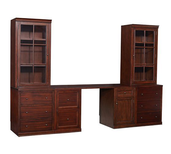 logan small office suite pottery barn