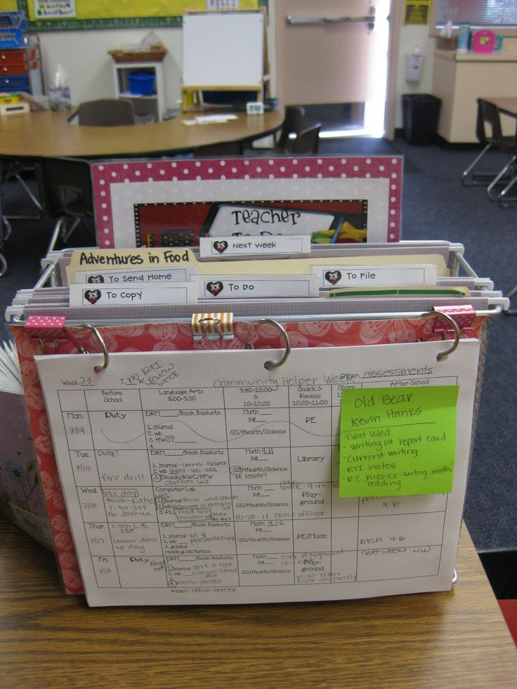 INSPIRATION: I would like something like this for home- love the file basket. It would be where the kids put their school papers for me to look at & I'd hang schedules on the outside rings