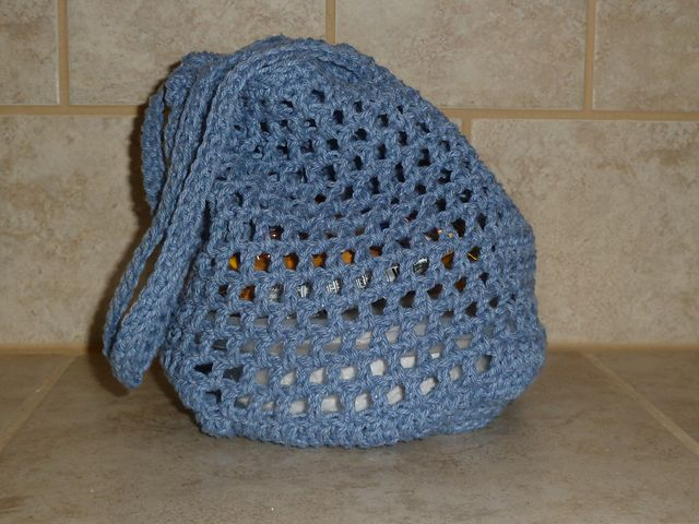 Ravelry: FREE! Box Lunch Bag pattern by Sue Usiatynski ?CQ #crochet ...