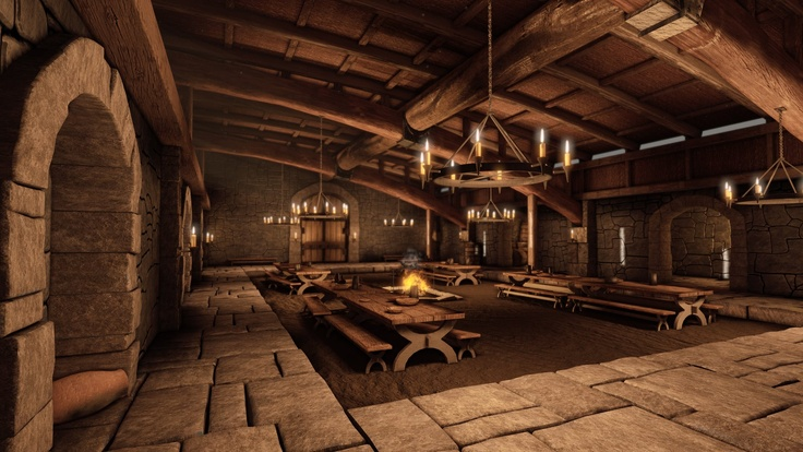 how to build a mead hall