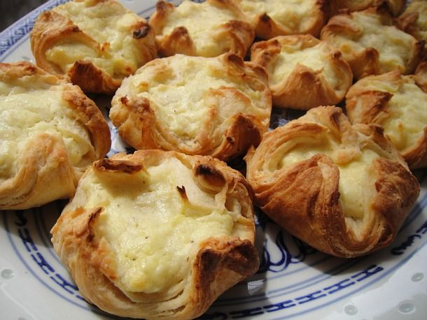 Goat Cheese Danishes... best guess is I will never make this recipe as ...