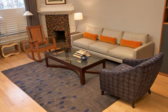 Bring Your Living Room to Life with Mismatched Chairs. Makeitbetter ...