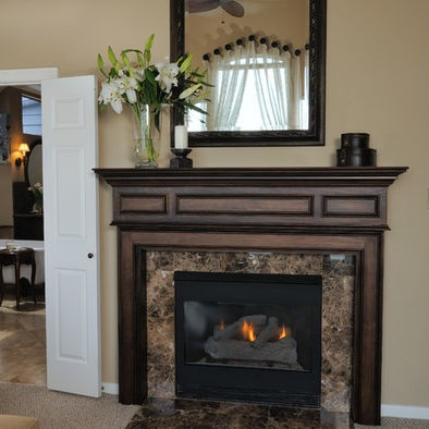fireplace trim decorating ideas