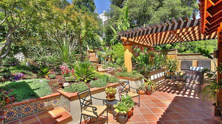 nice backyard jardin pinterest