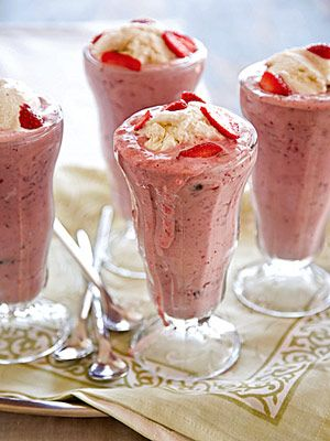Buttermilk Berry Shakes recipe from Taste of the South.