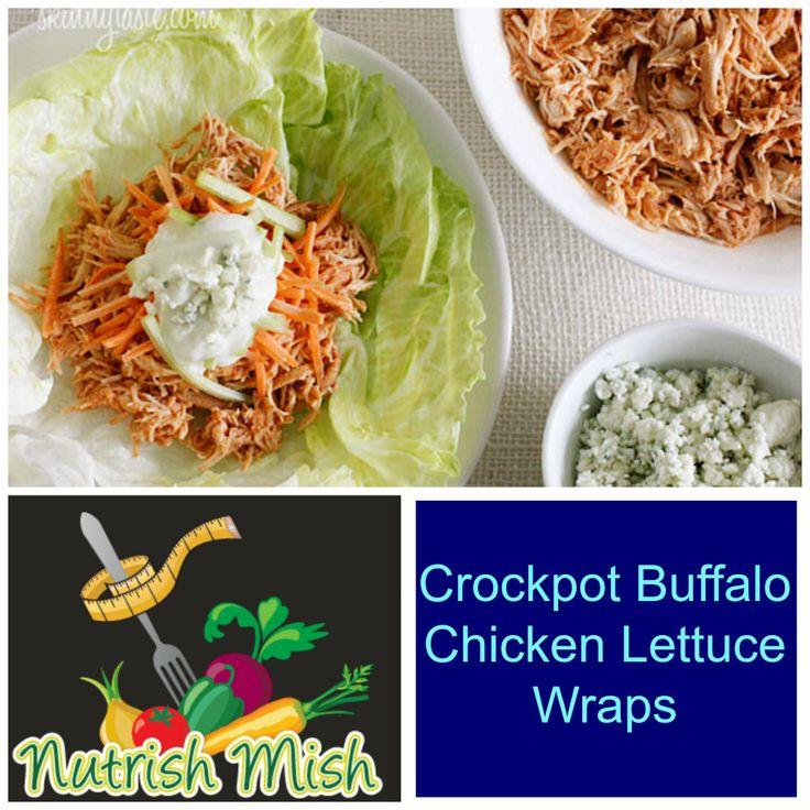 ... .skinnytaste.com/2012/04/crock-pot-buffalo-chicken-lettuce-wraps.html