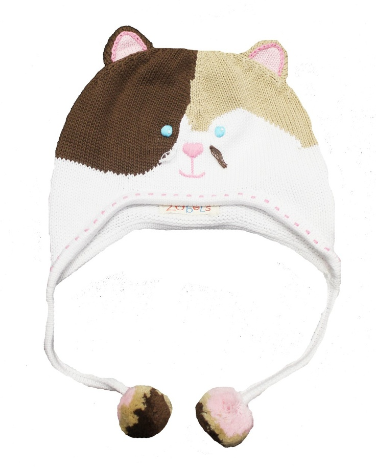 Knit Kitty Cat Hat | crafts | Pinterest