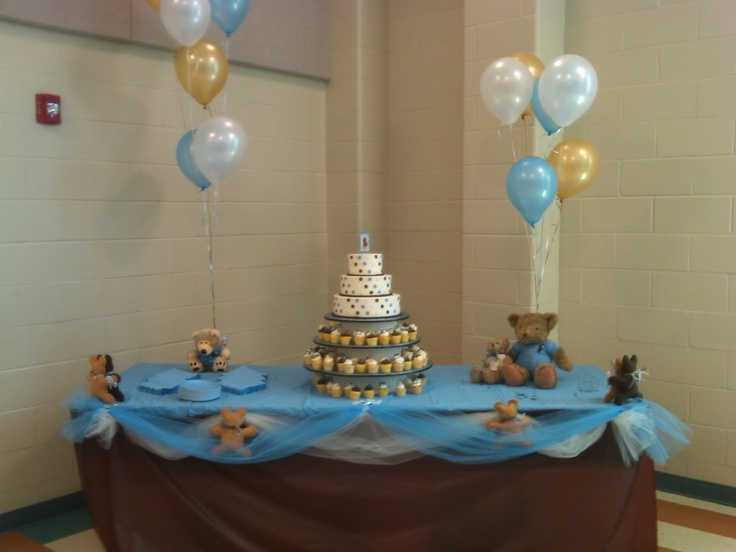 my polo bear themed baby shower it turned out awesome