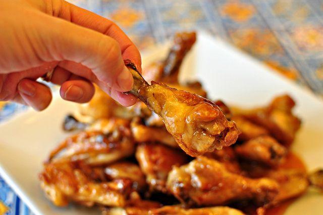 Crispy Baked Asian Wings.... by meghensley, via Flickr