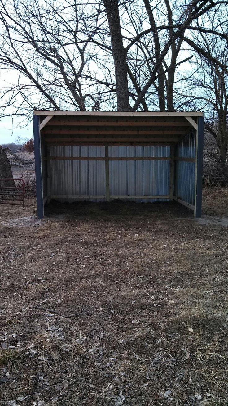 Lean To Horse Shelter Check Out This Great Money Saving