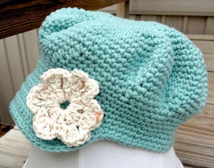 Free Crochet Patterns Newsboy Hat For Babies : Newsboy hat - free pattern Crochet - BABY Pinterest