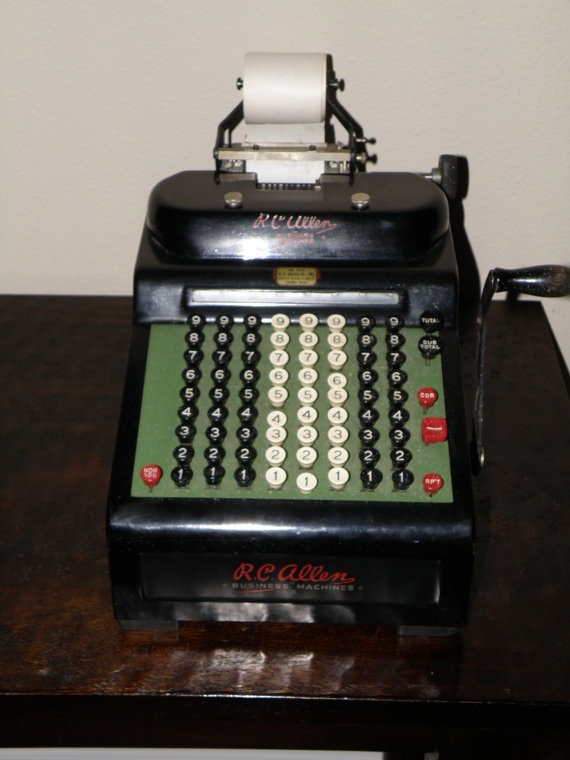what is an adding machine