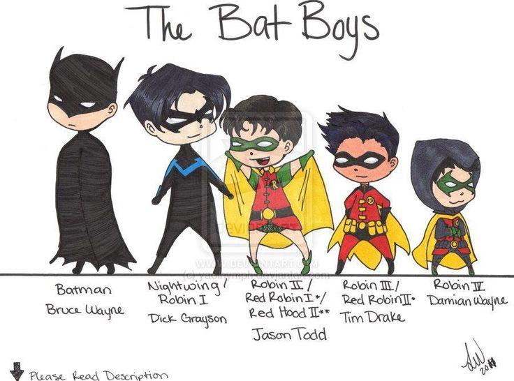 Bat boys | All the Robins | Pinterest
