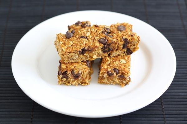 Pumpkin Chocolate Chip Granola Bars from www.twopeasandtheirpod.com # ...