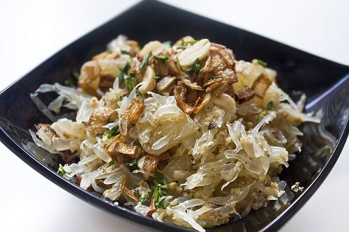 Thai Vegan / Vegetarian Pomelo Salad ( Yam Som O )