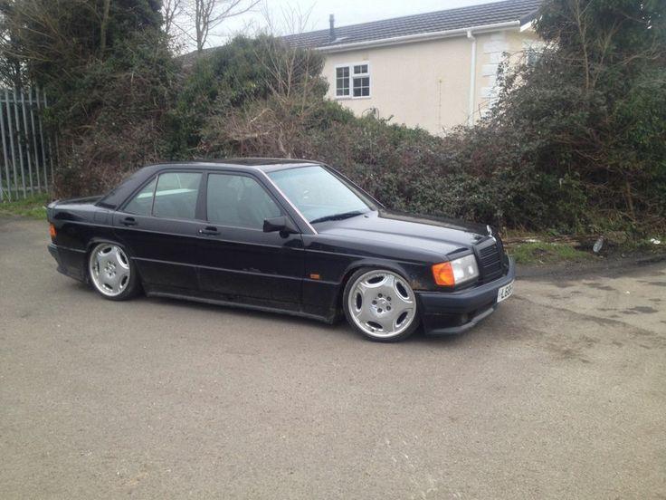 Mercedes 190e Black Amg Cosworth Rare Retro