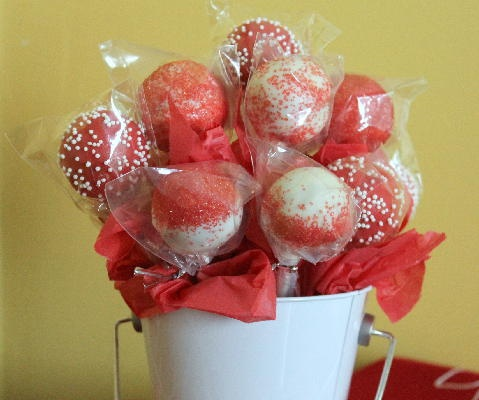 Gluten Free Red Velvet Cake Pops Recipes — Dishmaps
