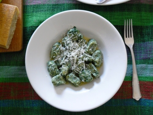 Spinach and Ricotta gnocchi | Cooking and Eating | Pinterest