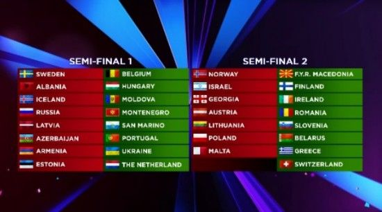 eurovision 2014 countries participating