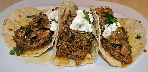 Carnitas Salsa Verde | Pork Main Dishes | Pinterest