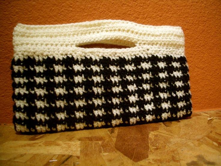 Crochet Bolsa - visuais