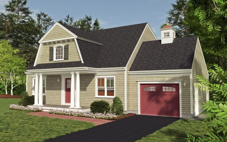 Pin by patrick sheffler on exterior home design pinterest for Cape cod cottage house plans
