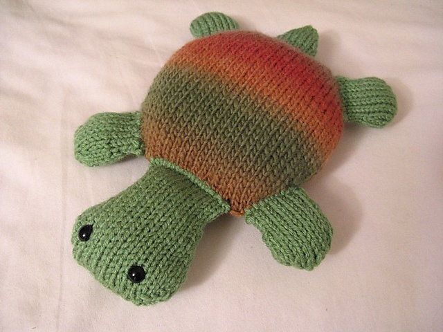 another turtle same pattern knitted toys Pinterest