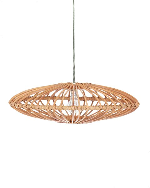 Suspension rotin vintage meuble pinterest - Suspension rotin blanc ...