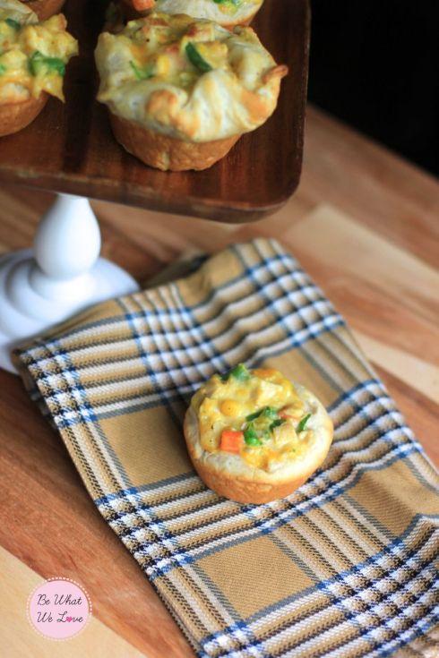 Chicken Pot Pie Cupcakes | Yummy Ideas | Pinterest