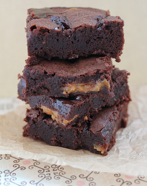 Dulce de Leche Brownies (The recipe creator says they are the absolute ...