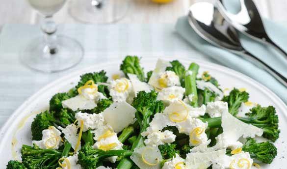 Tenderstem® with ricotta, lemon and shaved parmesan #recipe