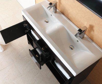 Bathroom Vanity With Trough Sink : Trough Sink Bathroom Vanity