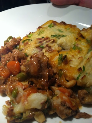 turkey shepherds pie: a lighter fare of the heavy comfort food and I ...