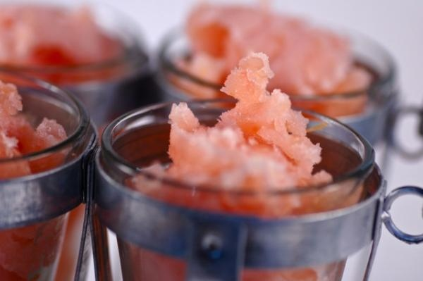 Grapefruit Campari Sorbet Recipe — Dishmaps